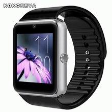 Женщины или мужчины смотреть новый бренд Smartwatch Bluetooth Цифровые Часы Наручные Часы для Android Телефон Умный Часы Спортивные Часы