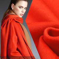Двусторонняя кашемировая шерстяная ткань высокого качества Толстая шерстяная ткань шерсть двухсторонняя Пальтовая ткань, кашемир оптовая