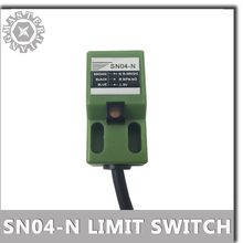 SN04-N Limit Switch DC6-36V cnc router CO2 laser emergency stop sn04n 4mm Approach Sensor NPN 3 wire Inductive Proximity Switch.(China)
