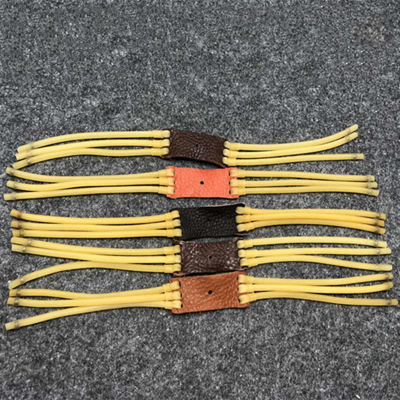3 pces/5 pces banda de borracha forte 3050 para acessórios estilingue caça arma ar movimento elástico bungee sling substituição