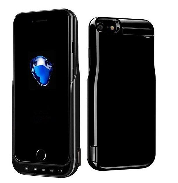 imágenes para 1 Unidades de Alta Calidad Del Cargador de Batería para el iphone 7 6 6 s 10000 mAh Banco de Alimentación Externa Cargador de Batería de Reserva Cubierta caso