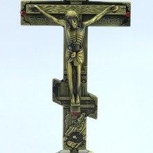 Hankroi стоящий распятие металлический 7 дюймов крест