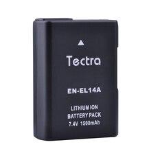 1500 mAh 1x EN-EL14 EN-EL14a Батарея для Nikon P7100 P7700 D3500 D3400 D3200 D3300 D5100 D5200 D5300 D5500 en el14 enel14 Батарея