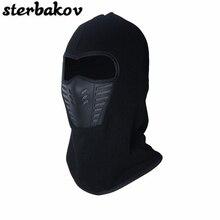 sterbakov bicycle mask winter warm wool mountain hats masks breathe freely necklace scarf riding black bone cap Balaclava cap цена