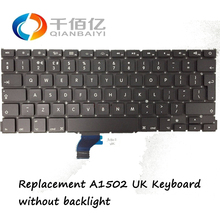 Genuine New Replacement A1502 UK Keyboard for MacBook Pro Retina 13′ 2013-2015 without backlight
