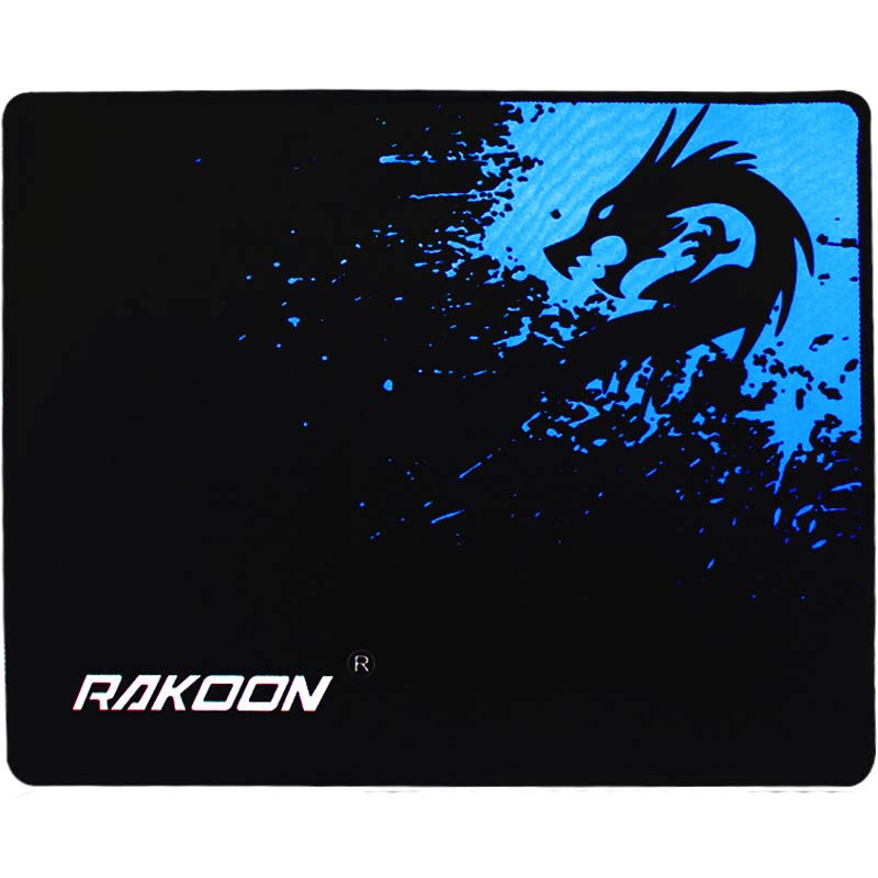 Rakoon Large Gaming Musemåtte Låse Edge 3 Størrelser Mus Mat Internet Bar Mousepad Speed ​​Versjon for Pro Gamer