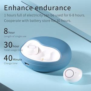Image 3 - Fone de ouvido sem fio bluetooth 5.0 tws 3d estéreo fones de ouvido som auto conectar mãos livres chamada telefone mini baixo