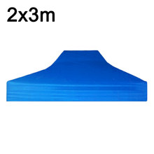 Top Tent Roof Cloth Shade 2*3m Folding Four Corner Thickening Stall Inflatable Backyard Party Garden Accessories(China)