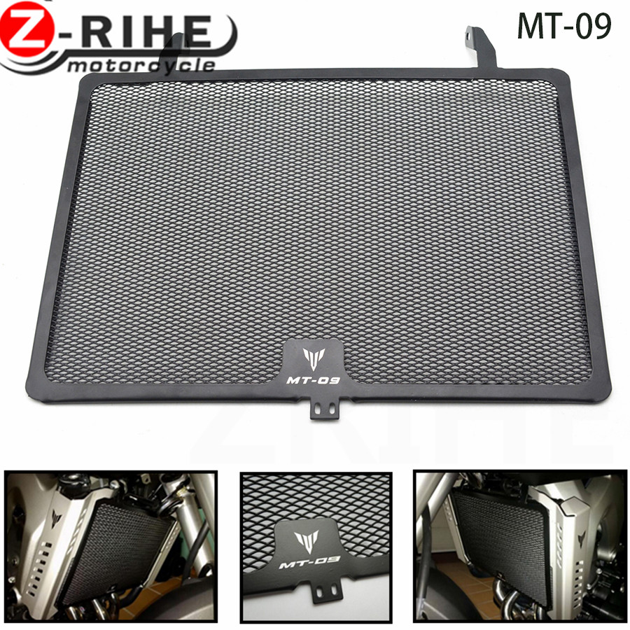 for yamaha Motorcycle Radiator Guard Grille Protector Cover For Yamaha MT-09 MT09 TRACER ABS 900 XSR900 FZ09 FJ09 MT FZ 09 15-17 motorcycle radiator grille grill guard cover protector golden for kawasaki zx6r 2009 2010 2011 2012 2013 2014 2015