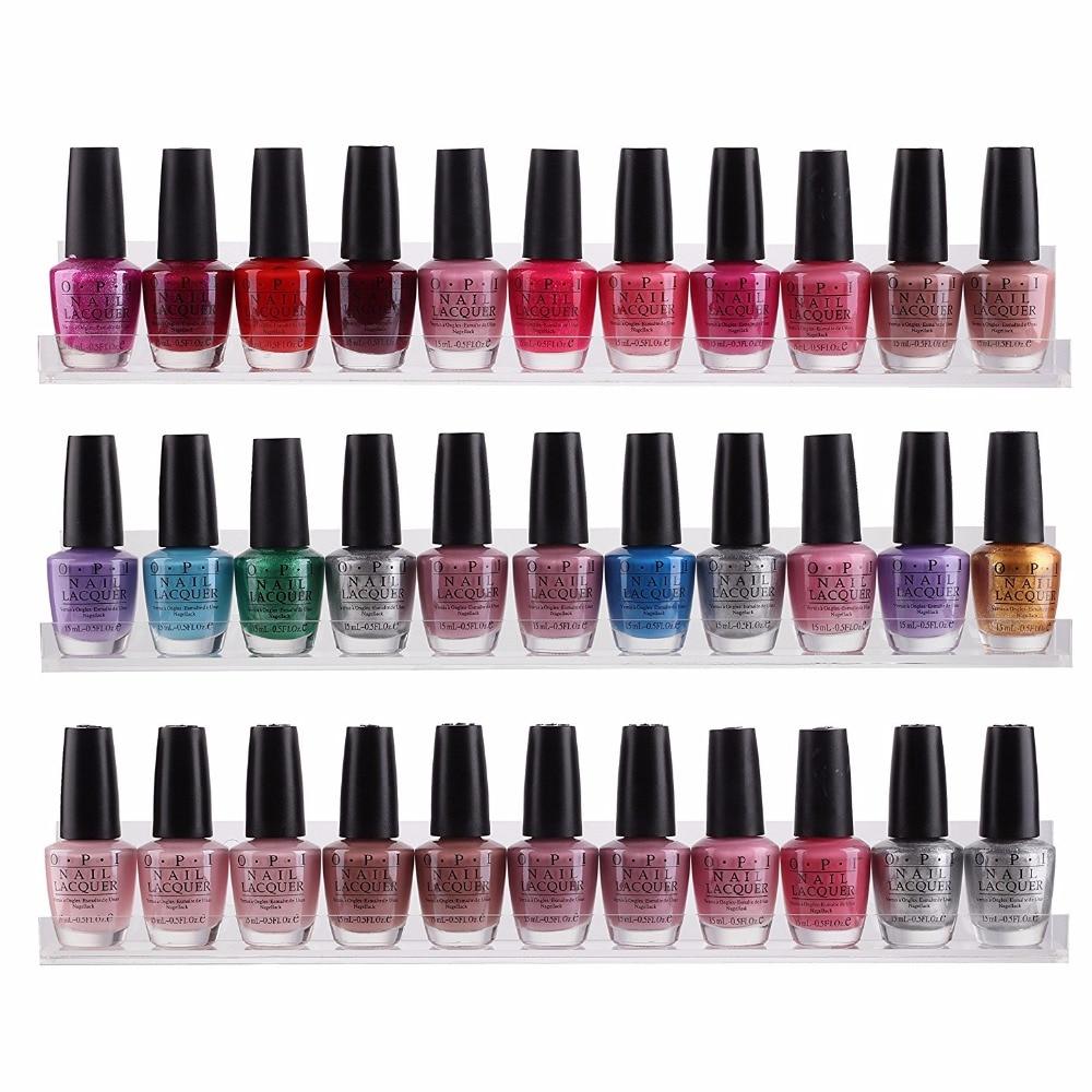 makartt 10 pcs lot clear acrylic nail polish rack 3. Black Bedroom Furniture Sets. Home Design Ideas