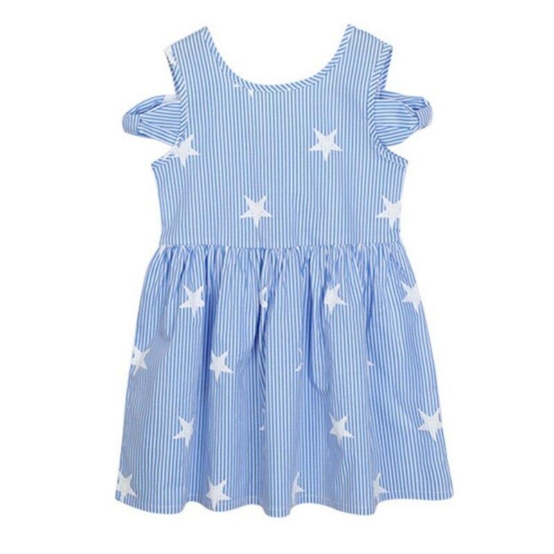 4 to 14 years kids & teenager girls summer heart print cutout-shoulder V-back cotton casual beach dress children fashion dresses