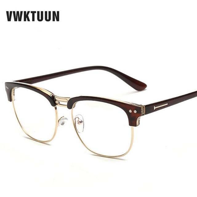 VWKTUUN Fashion New Glasses Frame Women Men Eyeglasses Optical ...