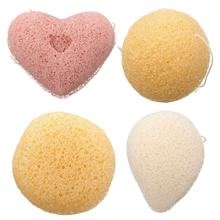 Magic Konjac Konnyaku Jelly Fiber Face Wash Cleansing Sponge Puff Pad Facial Exfoliator Clean Dead Skin Remover Beauty Skin Care(China)
