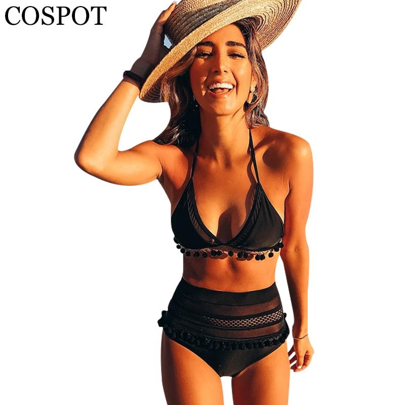 COSPOT Swimwear Women 2019 Bikini Sexy Swimwear Female Swimsuit Swimming Suit For Woman Two Pieces Suits Maillot de Bain Femme