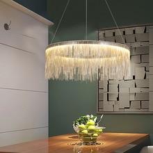 цена Modern LED chandelier dining room hanging lights Nordic illumination home deco lighting fixtures living room suspended lamps онлайн в 2017 году