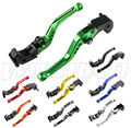 DIY Colors Motorcycle Adjustable Short Brake Clutch Levers For 2007-2016 Kawasaki Z750 Z800 Z 750 800 E version  08 09 12 13 14