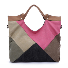 2016 Hot Retro Fashion Canvas Shoudler Messenger Bag, Handbag, Women Bag, Satchels 1 Colors,Wholesales,Free Shipping,K-1013