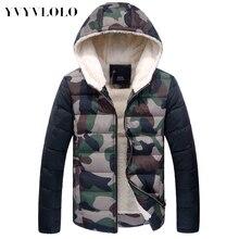 2015 Осень Зима Куртка Мужчины, Ultra Light Тонкие плюс размер зимние куртки для мужчин Мода мужская Верхняя Одежда пальто