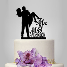 Настоящие Персонализированные Акриловые принцесса обнимает свадебный торт Топпер/Свадебный стенд/Свадебные украшения/Пользовательский Топпер