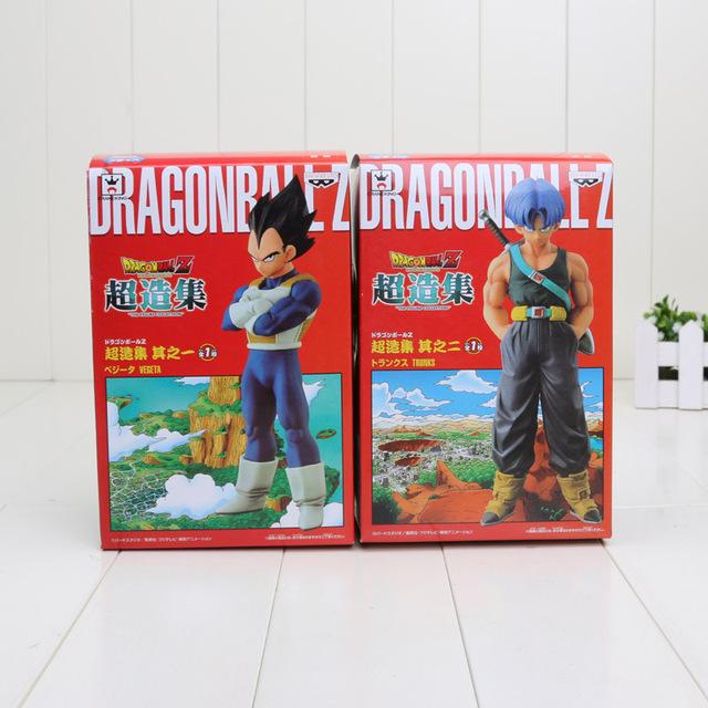 Vegeta and Trunks Models (15 CM) (Sold Seperately)