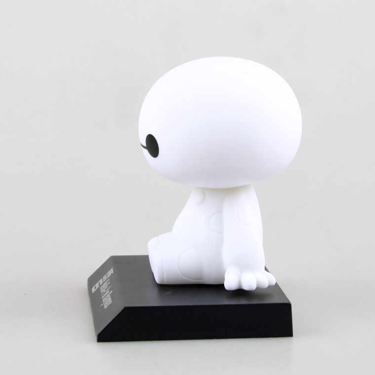 2019 NOVA Big Herói Baymax Toy Modelo de construção Bonecas figma 6 11 cm Adorável Bonito Automóvel Balançando A Cabeça Figura de Ação PRESENTE