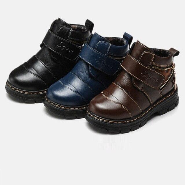 efadf3c9aa3c1 Nouveau printemps automne enfants chaussure bébé garçon en cuir chaussures  garçon chaussure étanche chaussure 855