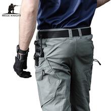 Mege ماركة الجيش العسكرية السراويل الرجال الملابس التكتيكية الحضرية القتالية بنطلون جيوب متعددة فريدة سراويل تقليدية نسيج مضاد للتمزق