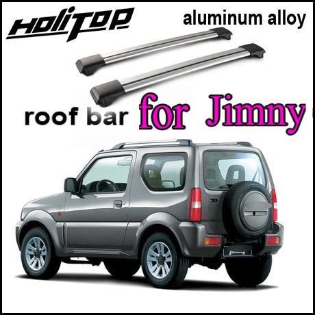 7075 Aviation class roof rack cross bar roof cross rail for Suzuki Jimny 2014 2017 best