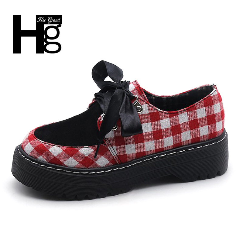 HEE GRAND Uk Style Low Heel Women's  Autumn Loafers Comfortable Shoes Student Fashion Shoes White Woman Slip on Shoes XWD6187 suck uk