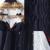 Chaquetas de Invierno de Las Mujeres más el Tamaño de Algodón Acolchado Cuello de Piel Chaqueta Caliente 2017 Completo de Manga Larga Casual Con Capucha Gruesa Abrigos Largos ucrania CALIENTE