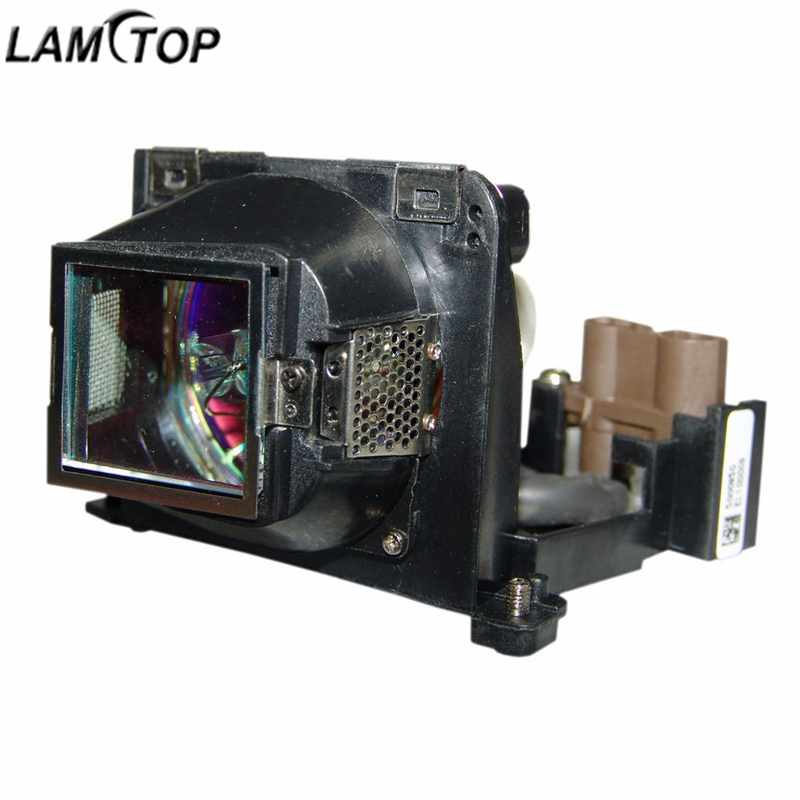 LAMTOP VLT-XD205LP replacement compatible projector lamp bulb with housing MD300X/MD330/XD205R/MD300S/XD205/SD205/XD205U/XD205R replacement lamp bulb with housing vlt xd206lp for md307x md307s xd206u sd206u sd206