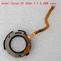 Используется диафрагма ассамблея Ремонт частей Для canon ef 85mm f/1.8 USM объектив