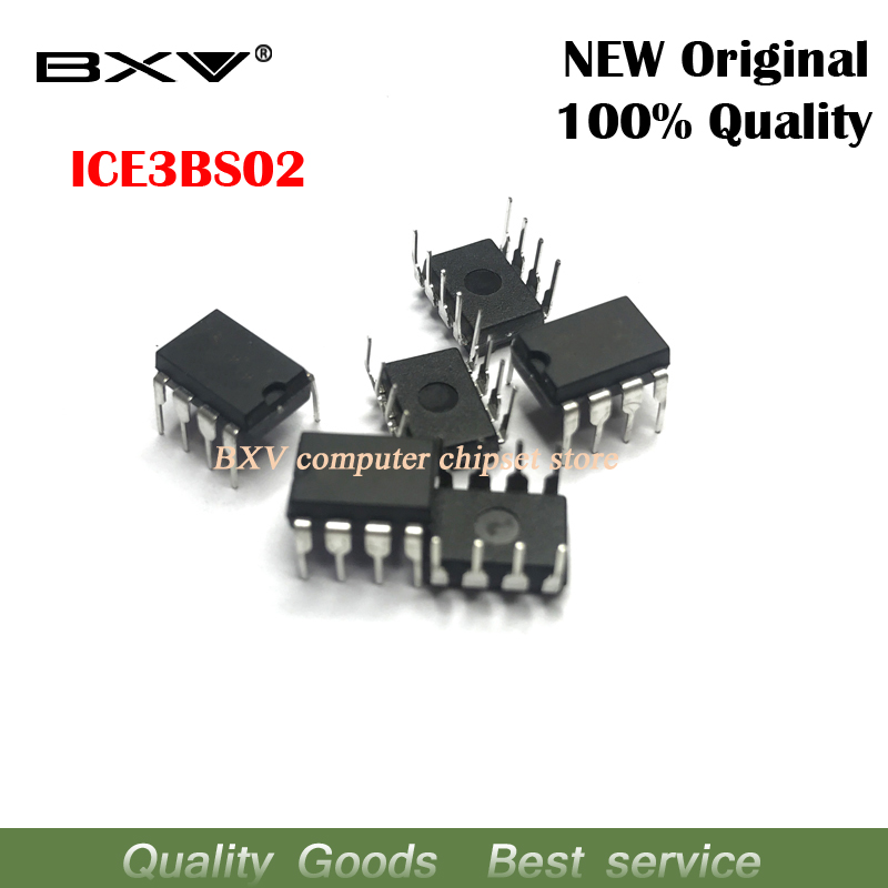 Useful Free Shipping 10pcs/lot Ice3bs02 Dip-8 Switching Supply Current Control Pulse Width Modulator New Original Active Components