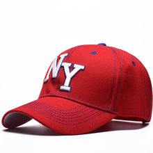 00a8e26a812 2019 Unisex 100% Cotton Baseball Caps For Men   Women Caps Outdoor Sun Hats  NY Letter Adjustable Casual Sports Hip Hop Cap