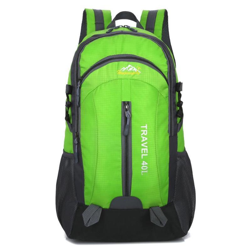 40L Waterproof Backpack Climbing Bag For Men Women 2019 Unisex Travel Camping Skiing Trekking Mountaineering Bags Bolsas Mochila
