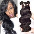Peerless 7A Peruana Virgin Hair Body Wave 3 Bundles Peruano Onda Del Cuerpo 100% Bundles Peruano de la Virgen Del Pelo Humano Extensiones de Cabello