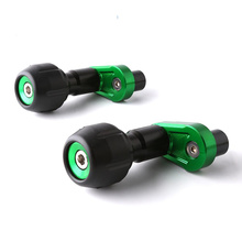 Motorcycle CNC Aluminum Body Frame Sliders Falling Protection for Kawasaki Ninja400 motorcycle general anti falling rubber for kawasaki z800 1000 body aluminum alloy anti falling block