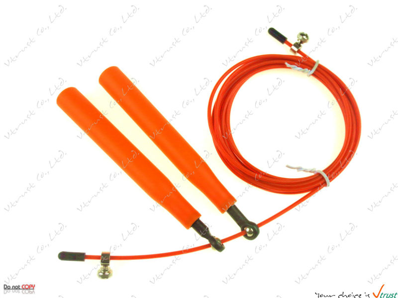 [dropship Available] Speed Jump Rope With Metal Bearing / Steel Wire / Length 3 Meters