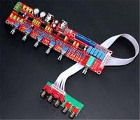 NE5532 preamplifier bord HIFI 5.1โทนแผ่นการควบคุมระดับเสียงแผงPreampคณะกรรมการผสมpre-