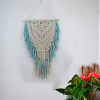 Large Hand Knotted Bohemian Tapestry Macrame DIY Cotton Thread Wall Hanging Bohem Hippie Tapestry Scandinavian Home Decorations