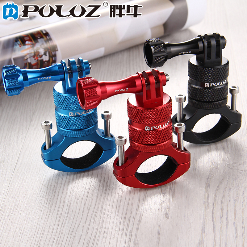 PULUZ PU223 sport camera accessories Bicycle Aluminum Handlebar Adapter Mount for GoPro HERO5 Session /5 4 Session /4 /3+ 3 2 1