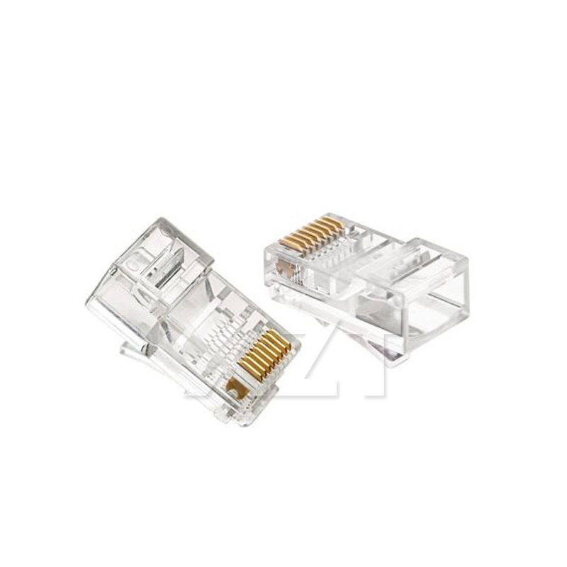 # YG01 1 teile/los RJ45 RJ-45 Ethernet Kabel Modul Stecker Netzwerk Anschluss für UTP Cat5 Cat5e Netzwerk Kabel Kristall Köpfe 8P8C