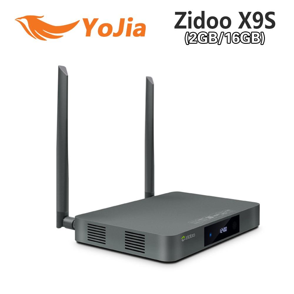 Original ZIDOO X9s TV BOX Android 6.0 + OpenWRT(NAS) Realtek RTD1295 2G/16G Set top tv box 802.11ac Media Player original zidoo x9s smart tv box android 6 0 openwrt nas realtek rtd1295 2g 16g 802 11ac wifi bluetooth 1000m lan media player
