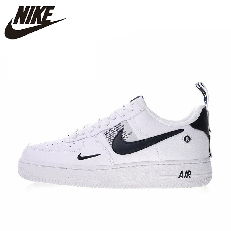 US $74.46 49% OFF|Original Authentic Nike Air Force 1 07 LV8 Utility Men's Skateboarding Shoes Sport Outdoor Sneakers Designer 2018 New AJ7747 100 in
