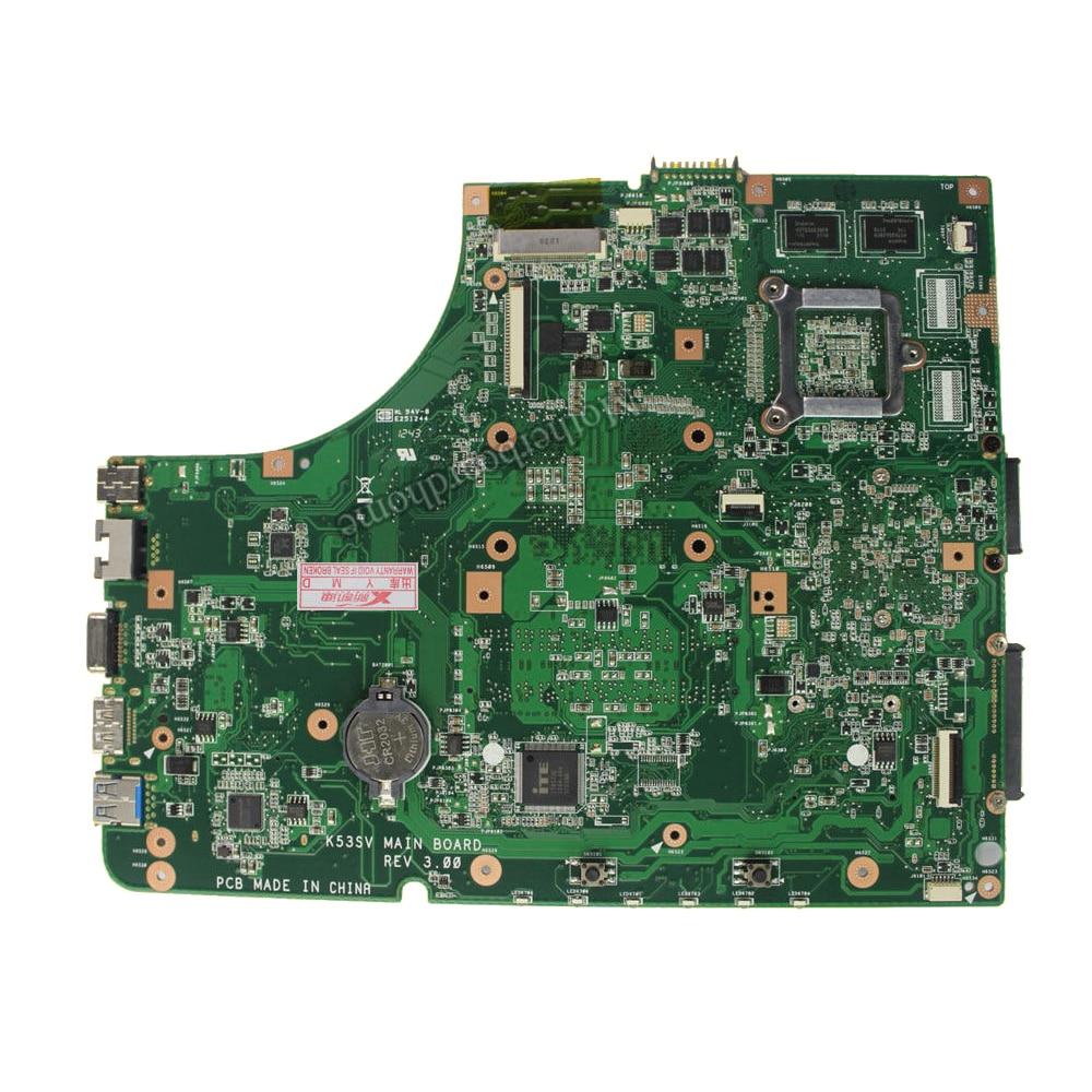 1 GB K53SV Motherboard REV 3.1 / 3.0 ASUS K53S A53S K53SV K53SJ P53SJ - Համակարգչային բաղադրիչներ - Լուսանկար 3