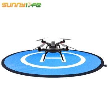 SUNNYLIFE 75cm Portable Mini RC Drone Quadcopter Launch Landing Pad Helipad w/Storage Bag for DJI Mavic Pro phantom 3 4 Spark drone helipad