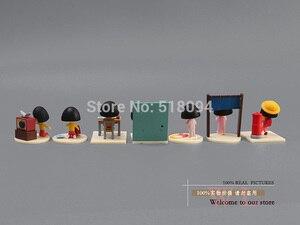 Image 5 - Free Shipping Anime Cartoon Chibi Maruko Sakura Momoko Happy Day PVC Action Figure Toys Dolls 13pcs/set CMFG002