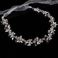 Hot Fashion Crystal Flower Wedding Bridal Flower Girl Tiara Free Shipping Wedding Hair Accessories Flower Wedding