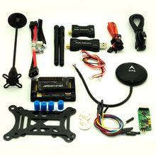 APM2.8 Полет Контроллер и НЕО-6M GPS V2 433 МГц Телеметрии с case мини OSD Модуль Питания для quadcopter mutricopter