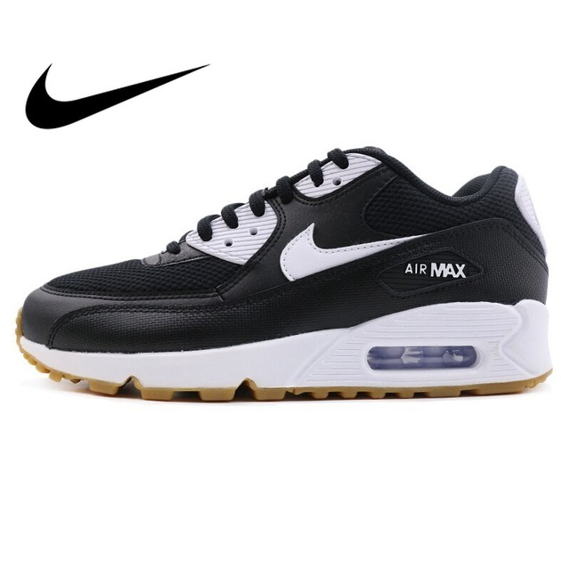 2018 Original WMNS NIKE AIR MAX 90 zapatillas para correr para mujer Zapatillas transpirables con am